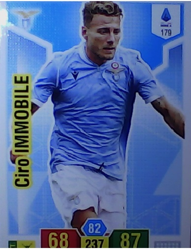 179 - Ciro Immobile - XL Adrenalyn 2019/20 calciatori Panini