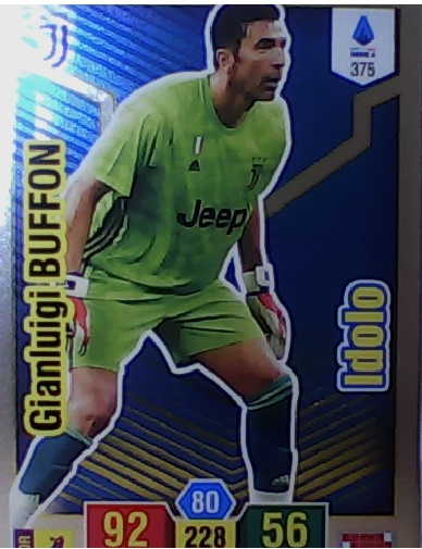375 - Gianluigi Buffon - XL Adrenalyn 2019/20 calciatori Panini