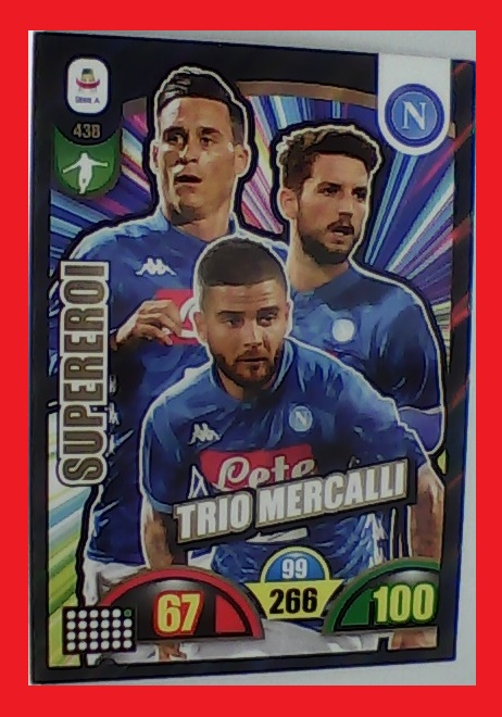438 - Supereroi - XL Adrenalyn 2018/19 calciatori Panini