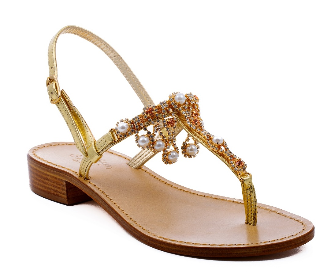 n-18 - Jewelry fashion Capri sandals