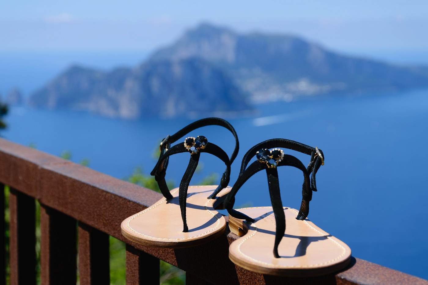 n-52- Jewelry fashion Capri sandals