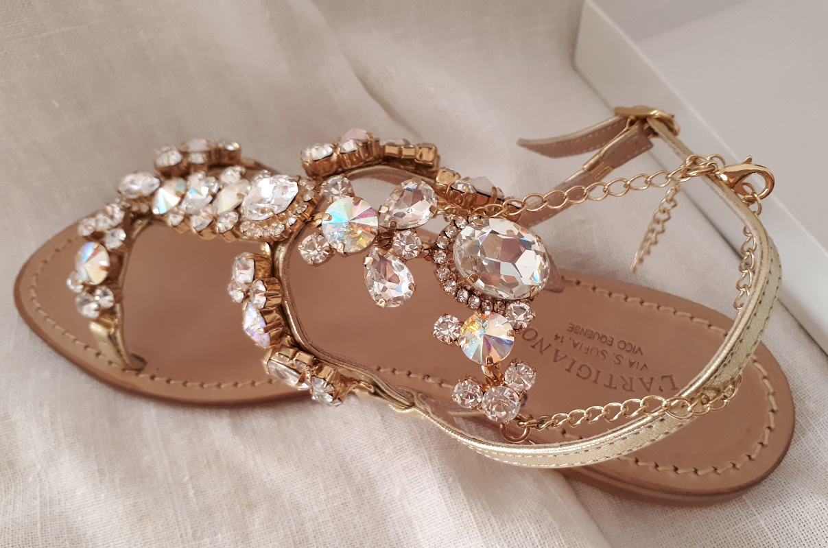 n-57 - Jewelry fashion Capri sandals