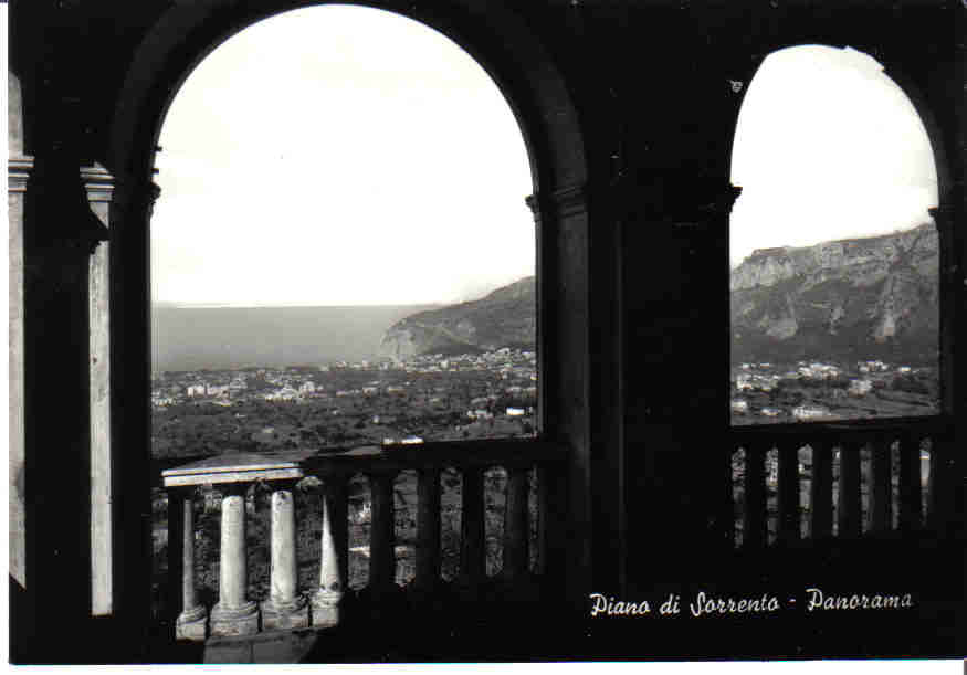 Piano di Sorrento panorama